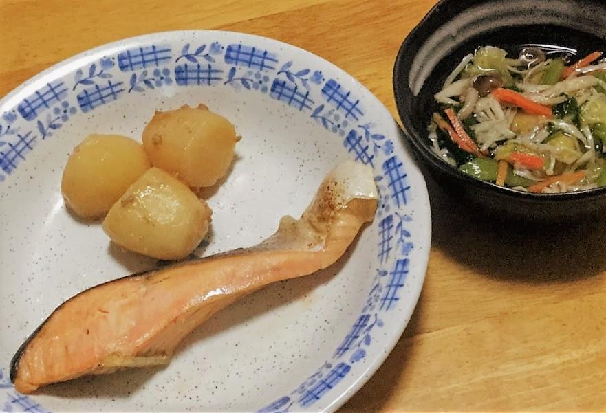 わんまいる鮭の塩焼きセット