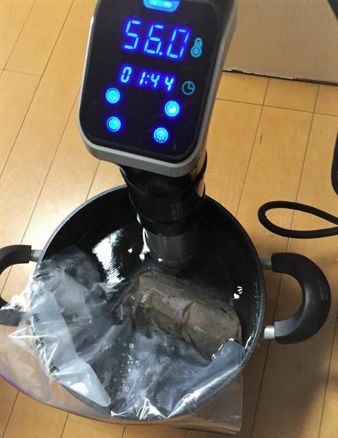低温調理器デリシェフ 自家製ローストビーフ