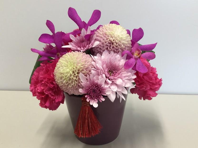 日比谷花壇 母の日 アレンジメント「花てまり」