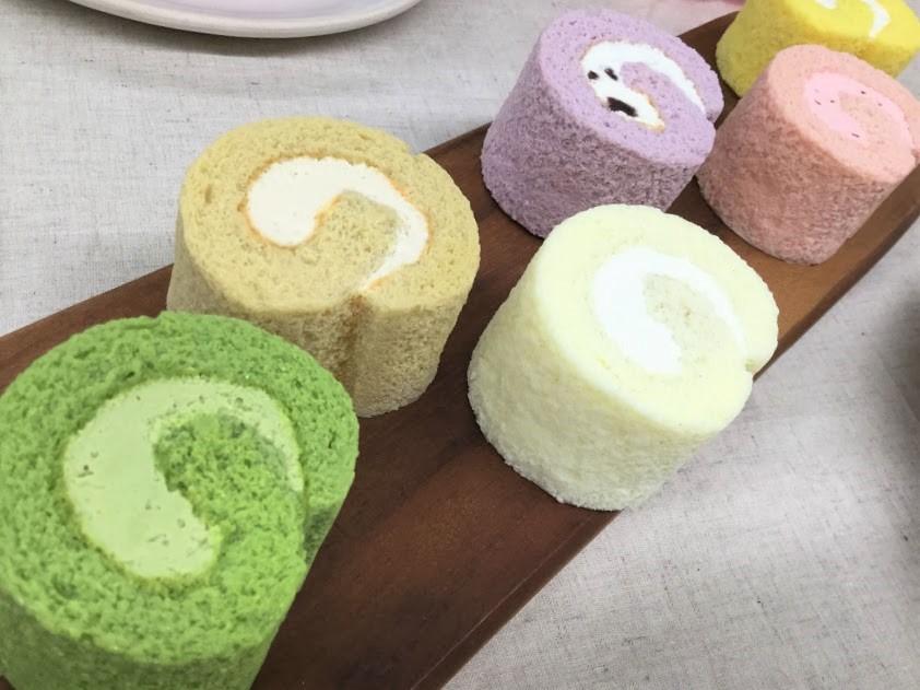日比谷花壇 母の日 ヒビヤカダンスイーツ「お花畑のロールケーキ」